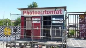 Ein beliebter Fotoautomat in der Warschauer Straße